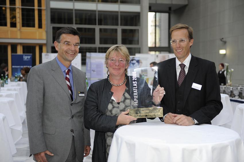 """Aachen """"Recyclingpapierfreundlichste Stadt 2008"""""""