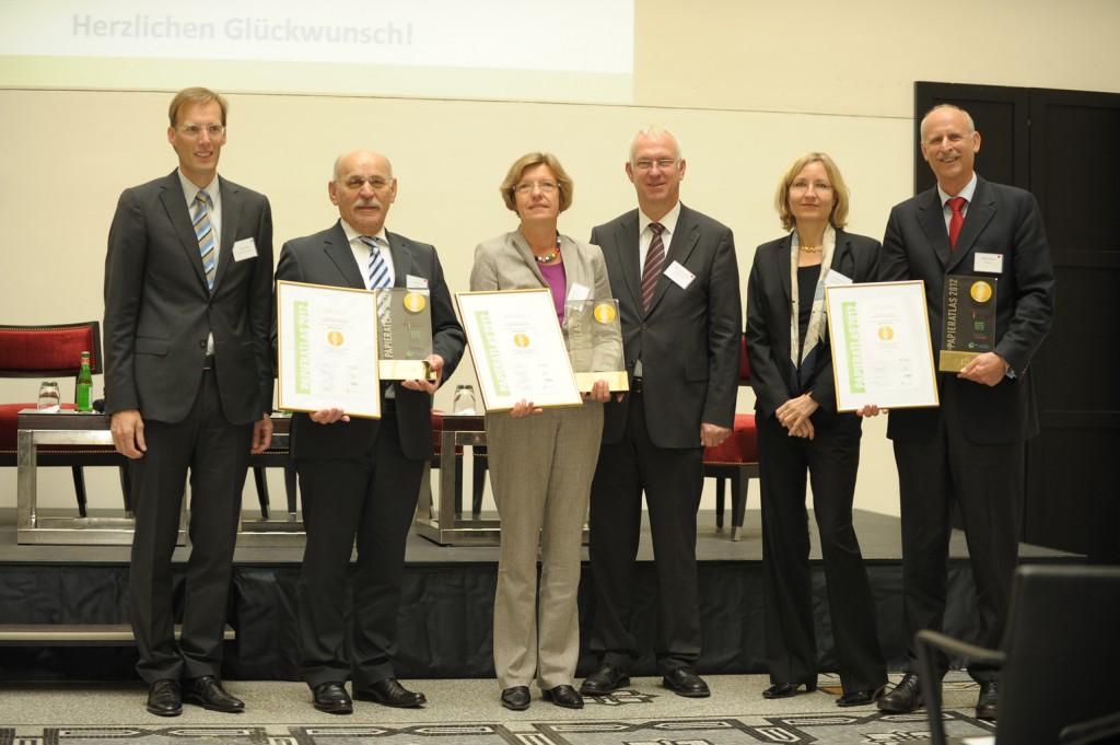 """Essen, Freiburg und Bonn """"Mehrfachsieger 2012"""""""