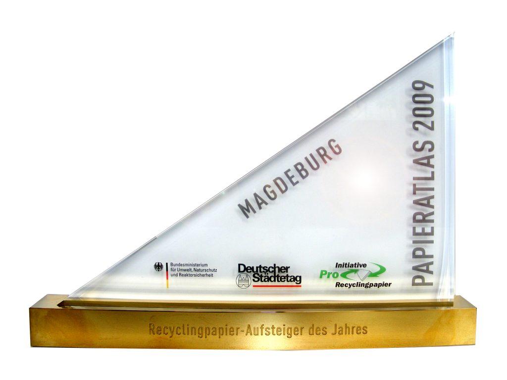 Award des Siegers Magdeburg