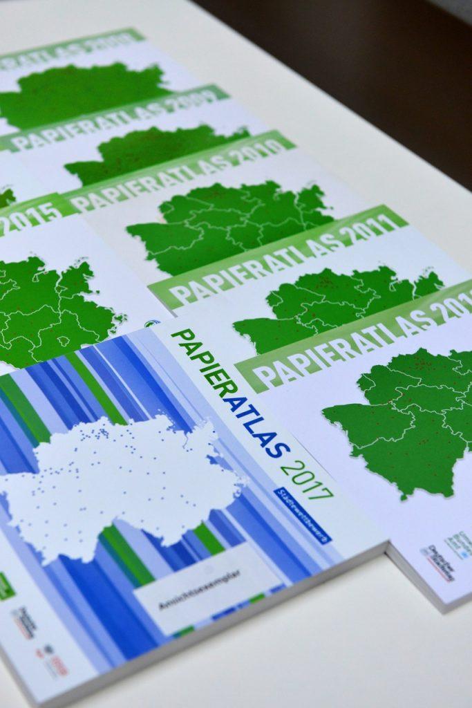 Papieratlas 2008-2017, Foto: Tina Merkau