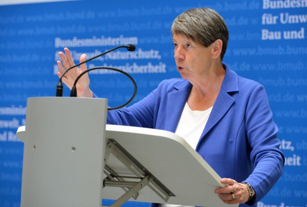 Dr. Barbara Hendricks (Bundesministerin für Umwelt, Naturschutz, Bau und Reaktorsicherheit), Foto: Tina Merkau