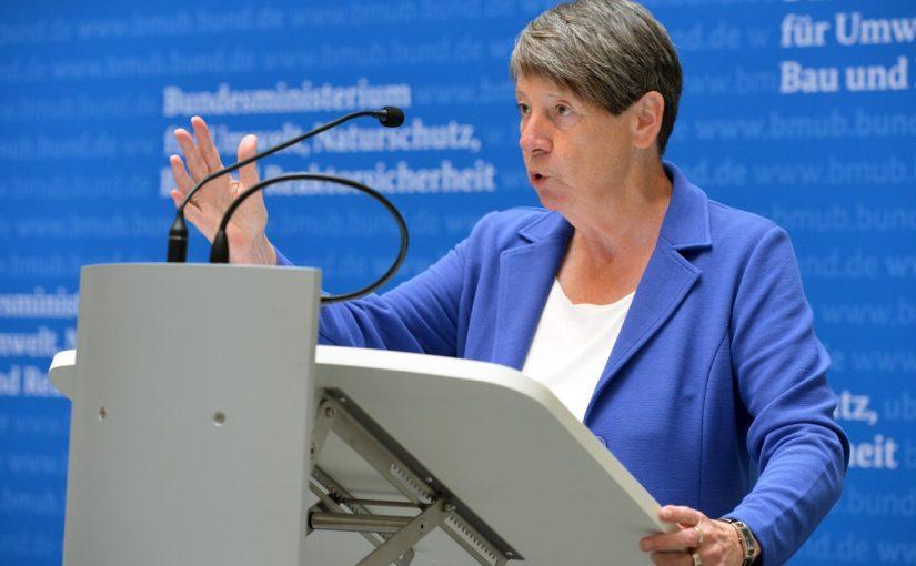 Bundesumweltministerin Dr. Barbara Hendricks, Foto: Tina Merkau