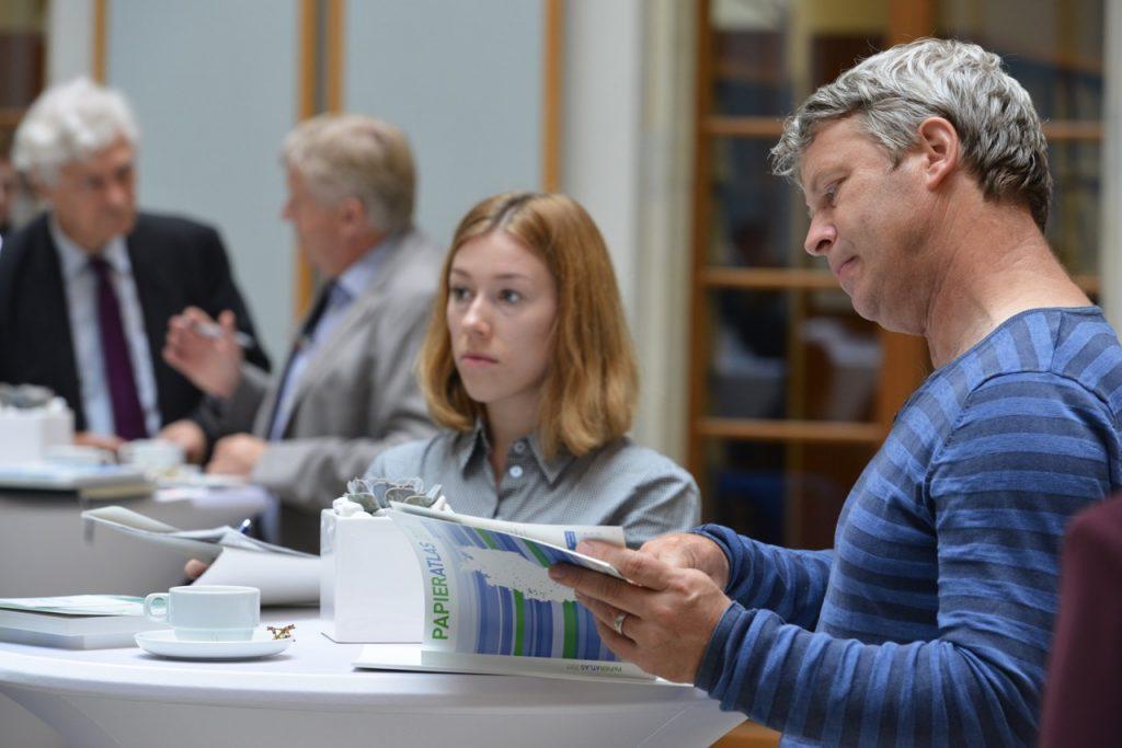 Papieratlas-Veranstaltung, Foto: Tina Merkau