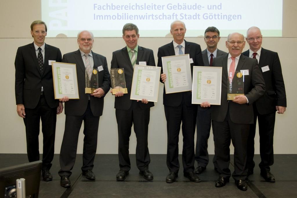 """Göttingen, Freiburg, Bonn und Essen """"Mehrfachsieger 2013"""""""