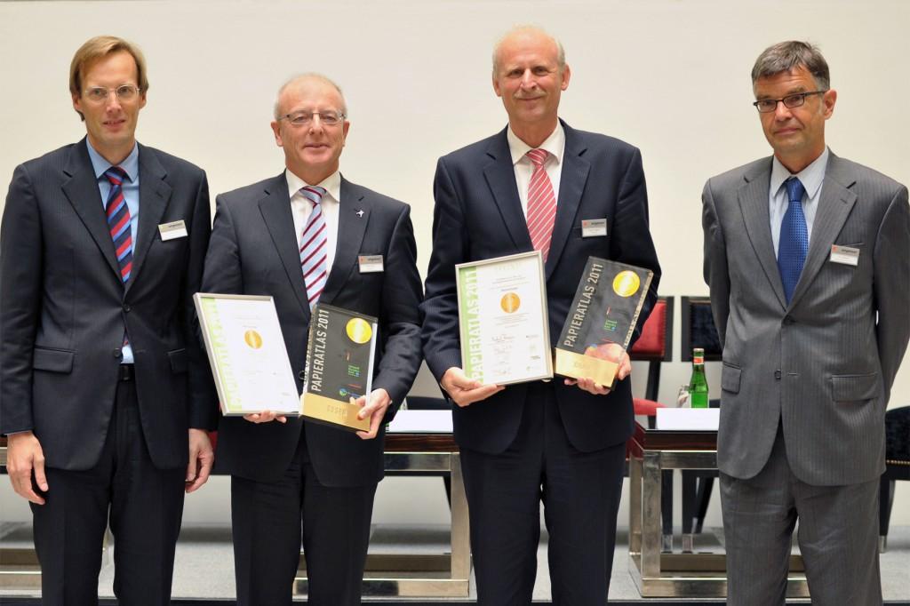 """Essen und Bonn """"Mehrfachsieger 2011"""""""